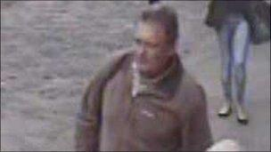 CCTV image of man police want to speak to in connection with burglary at guesthouse in Colchester