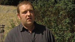 Farmer Steven Innes of Newmeadow Farm, Nairn
