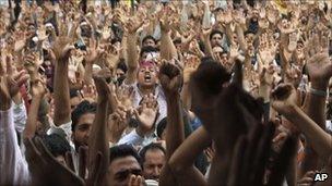 Demonstration in Srinagar