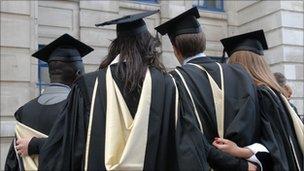 Graduates at London School of Economics