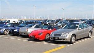 North Beach car parking