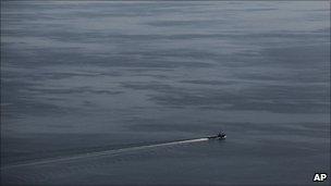 Boat in the Gulf