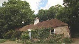 Elms on Charleston Manor estate