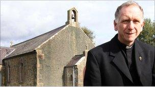 The Reverend Deiniol Prys, rector of Llansadwrn