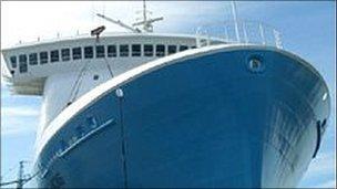 Scottish Viking ferry