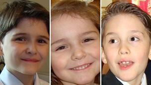 Luke, Cecilia and Austin Riggi