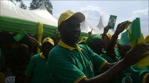 The PL (Liberal Party) in Kibungo area