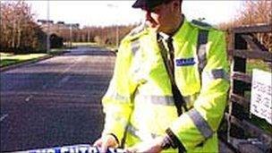 Garda officer