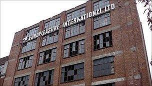 Europleasure building in Liverpool