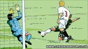 Summerfield's goal for Plymouth Argyle
