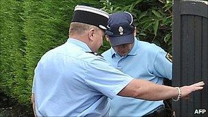 French gendarmes