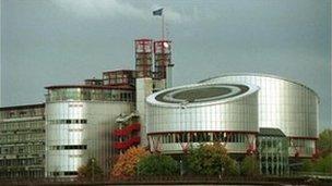 ECHR in Strasbourg