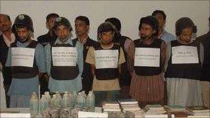 File photo of JMB suspects
