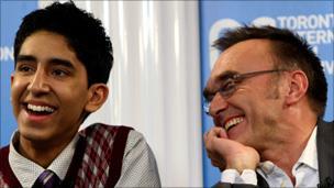 Dev Patel and Danny Boyle