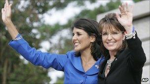 Sarah Palin and Nikki Haley