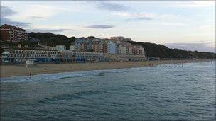 Boscombe seafront