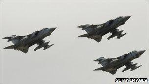 Tornado jets