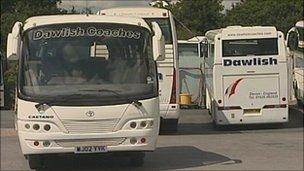Dawlish coaches