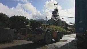 South Crofty site