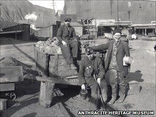 Coal miners in Scranton