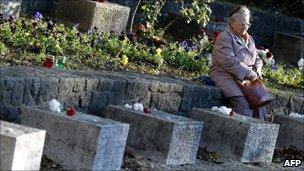 Graves of 1956 rebels