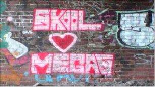 Graffiti by Steven Longstaffe and Megan McAuley