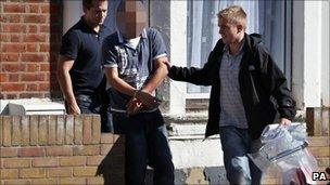 Man arrested by officers in Southend
