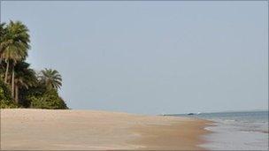 One of Guinea-Bissau's island