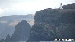 Cape Wrath lighthouse [Pic: Colin Wheatley http://www.geograph.org.uk/profile/10582]