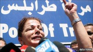 Samar al-Hajj, one of the organizers of Mariam Gaza aid ship