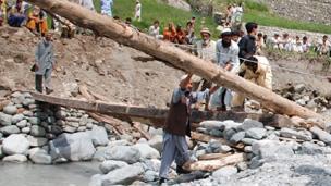 Kalam locals rebuilding