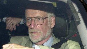 Dr David Kelly in 2003
