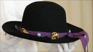 "Hendrix's ""Westerner"" hat"