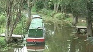 Section of the Wey and Arun Canal