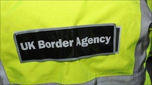 UK Border Agency vest