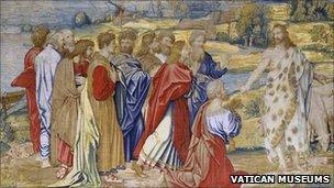 Raphael's Christ's Charge to Peter