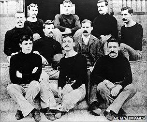 The first basketball team