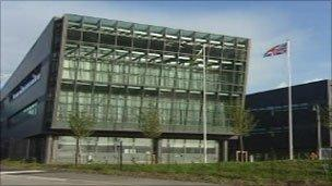 Welsh Assembly Government offices in Llandudno Junction