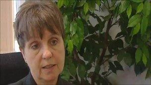Mary Burrows, chief executive, Betsi Cadwaladr University Health Board