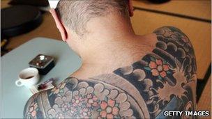 A retired member of the Yakuza