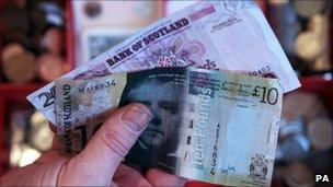 Scottish money generic