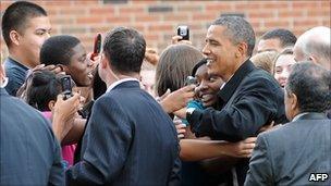 President Barack Obama in Wisconsin