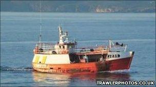 Kerloch fishing boat