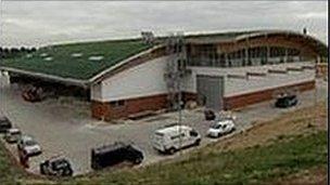 Adnams 'green' distribution centre