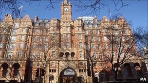 The Landmark Hotel in central London