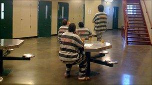 Inmates at a Sioux Falls prison