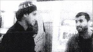 A security service image of two of the bombers, taken 17 months before the attacks