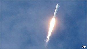 Falcon 9 launch (AP)