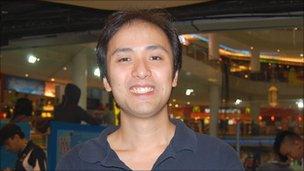 Allan Yeoh, acting captain of Malaysian national team