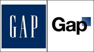 Gap logos